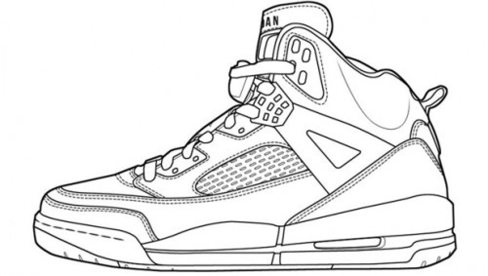Sneaker Coloring Book  Jordan Spizike ing To Nike iD