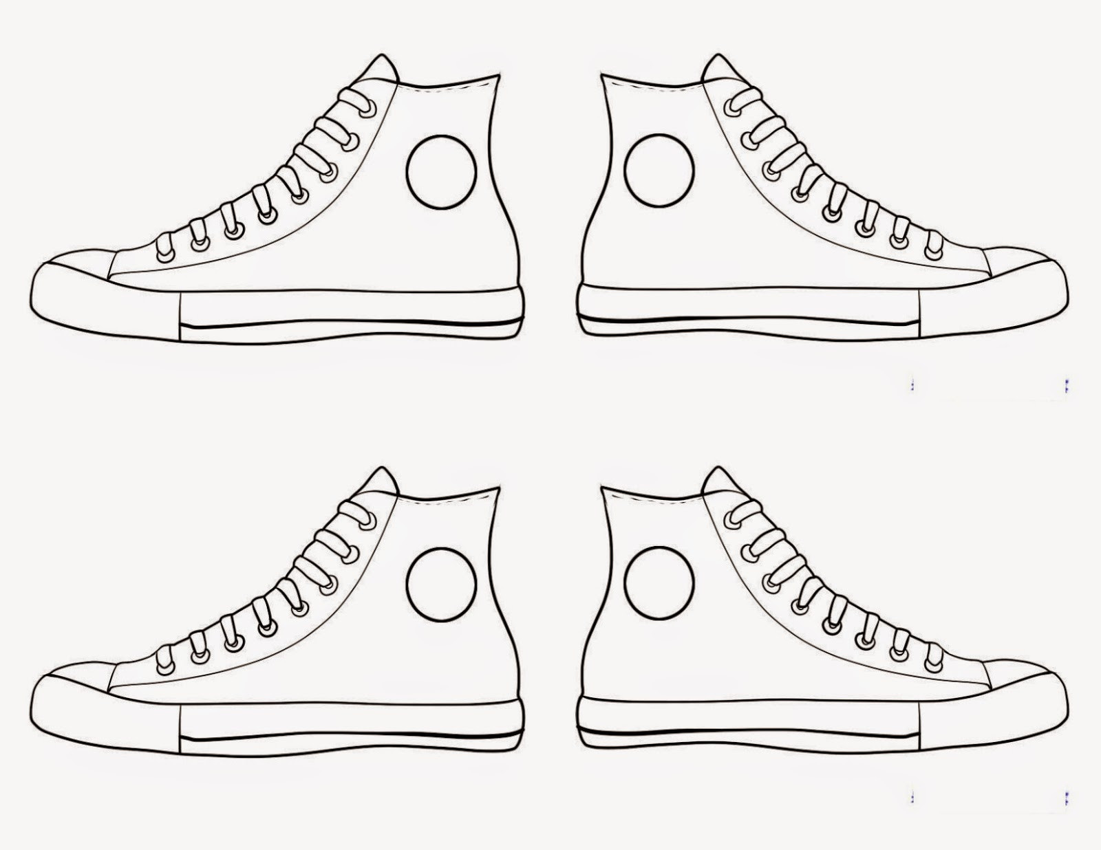Sneaker Coloring Book  Shoes Coloring Pages coloringsuite