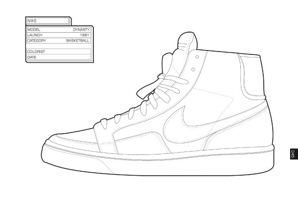 Sneaker Coloring Book  Addidas Superstars Free Coloring Pages