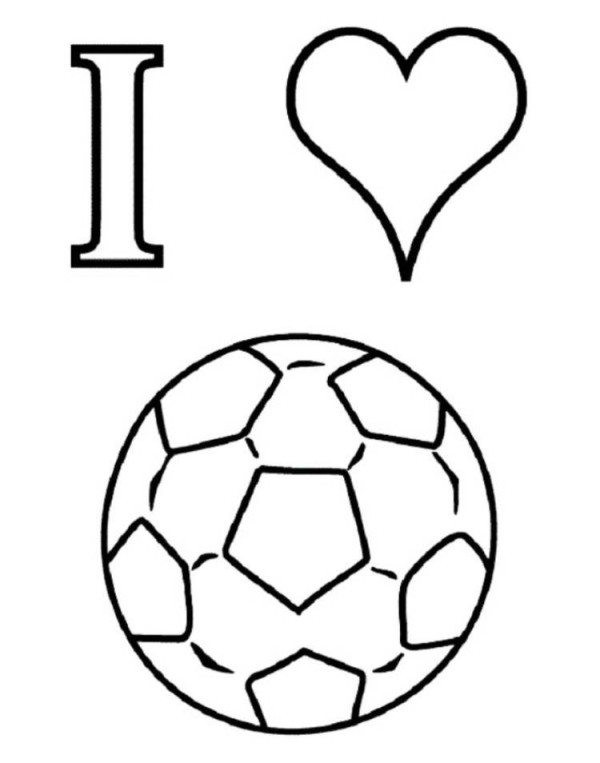 Soccer Coloring Pages For Boys  I Love Soccer Coloring Pages Boys Coloring Pages