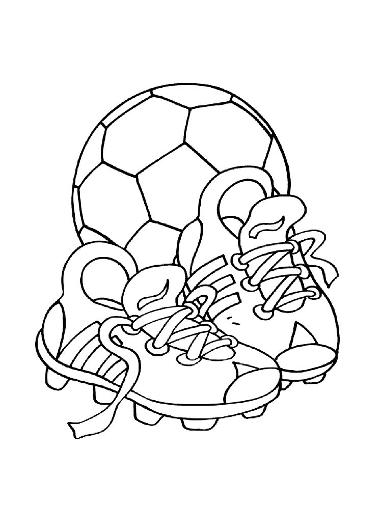 Soccer Coloring Pages For Boys  Soccer Ball coloring pages Free Printable Soccer Ball