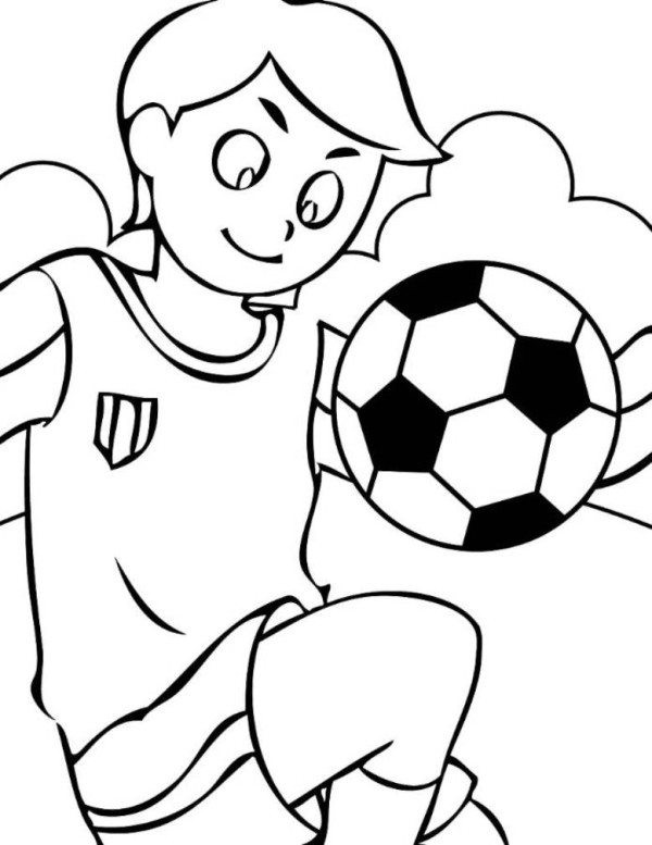Soccer Coloring Pages For Boys  Soccer Coloring Pages For Boys Boys Coloring Pages