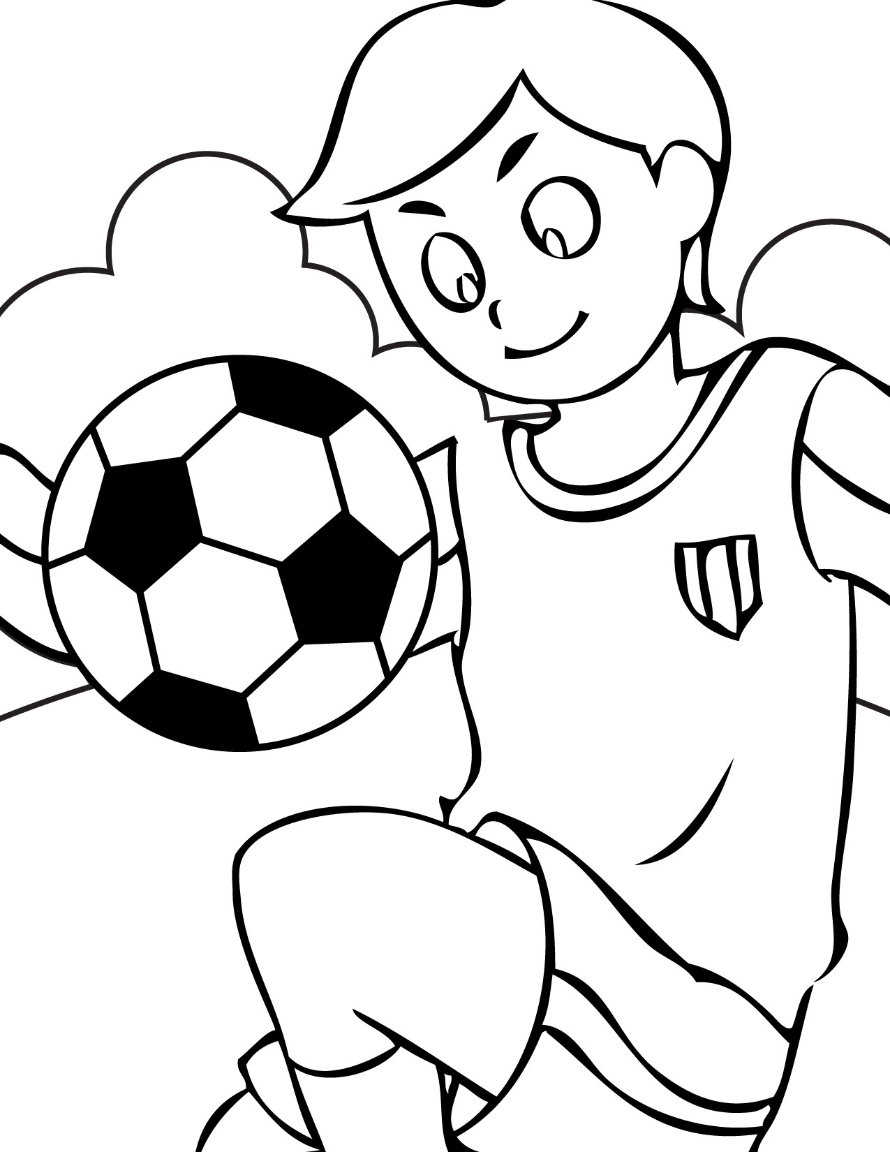 Soccer Coloring Pages For Boys  Free Printable Soccer Coloring Pages For Kids