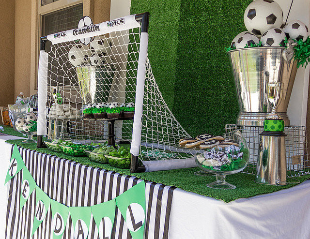 Best ideas about Soccer Theme Birthday Party . Save or Pin Girls Soccer Birthday Party Now.