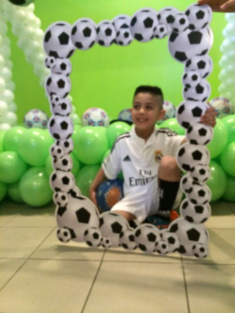 Best ideas about Soccer Theme Birthday Party . Save or Pin Soccer Theme Birthday Party Ideas 2 of 12 Now.