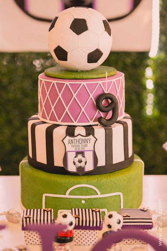 Best ideas about Soccer Theme Birthday Party . Save or Pin Kara s Party Ideas Soccer Themed Birthday Party Planning Now.