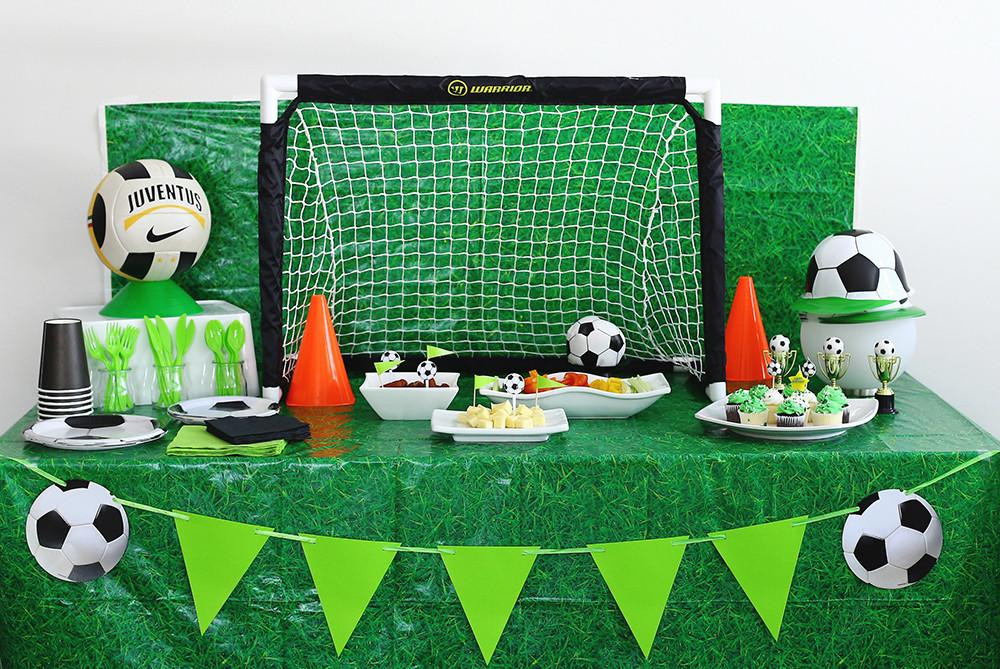 Best ideas about Soccer Theme Birthday Party . Save or Pin Soccer Themed Birthday Party Kit Now.