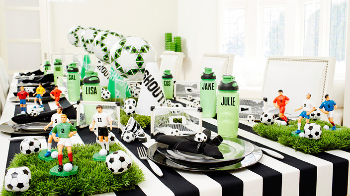 Best ideas about Soccer Theme Birthday Party . Save or Pin FIFA World Cup Soccer Party Kids Soccer Party Ideas Now.