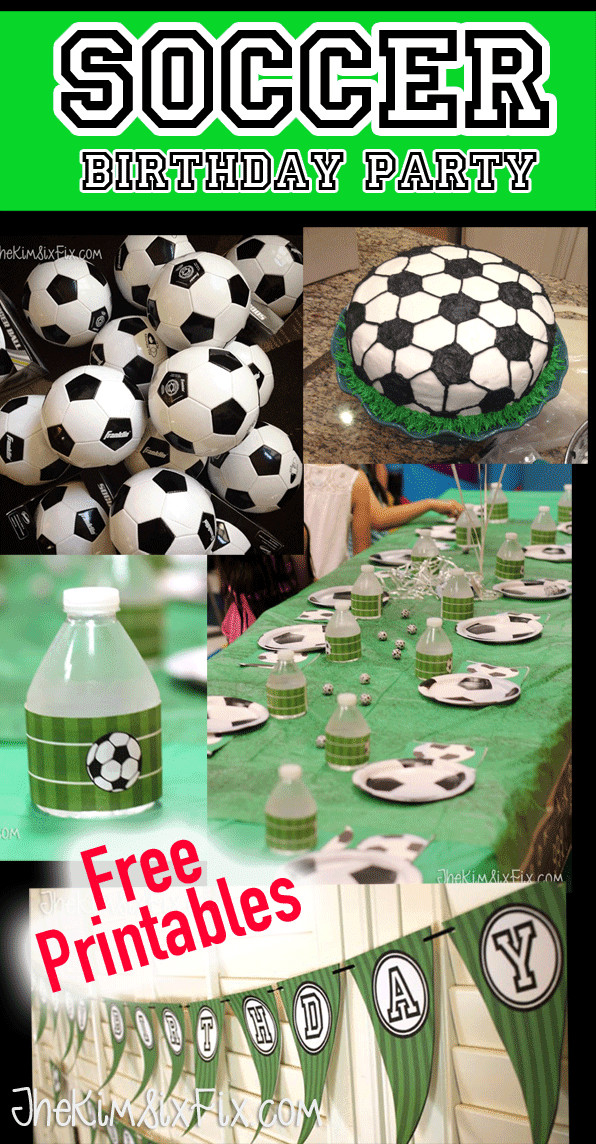 Best ideas about Soccer Theme Birthday Party . Save or Pin Soccer Birthday Party Ideas Now.