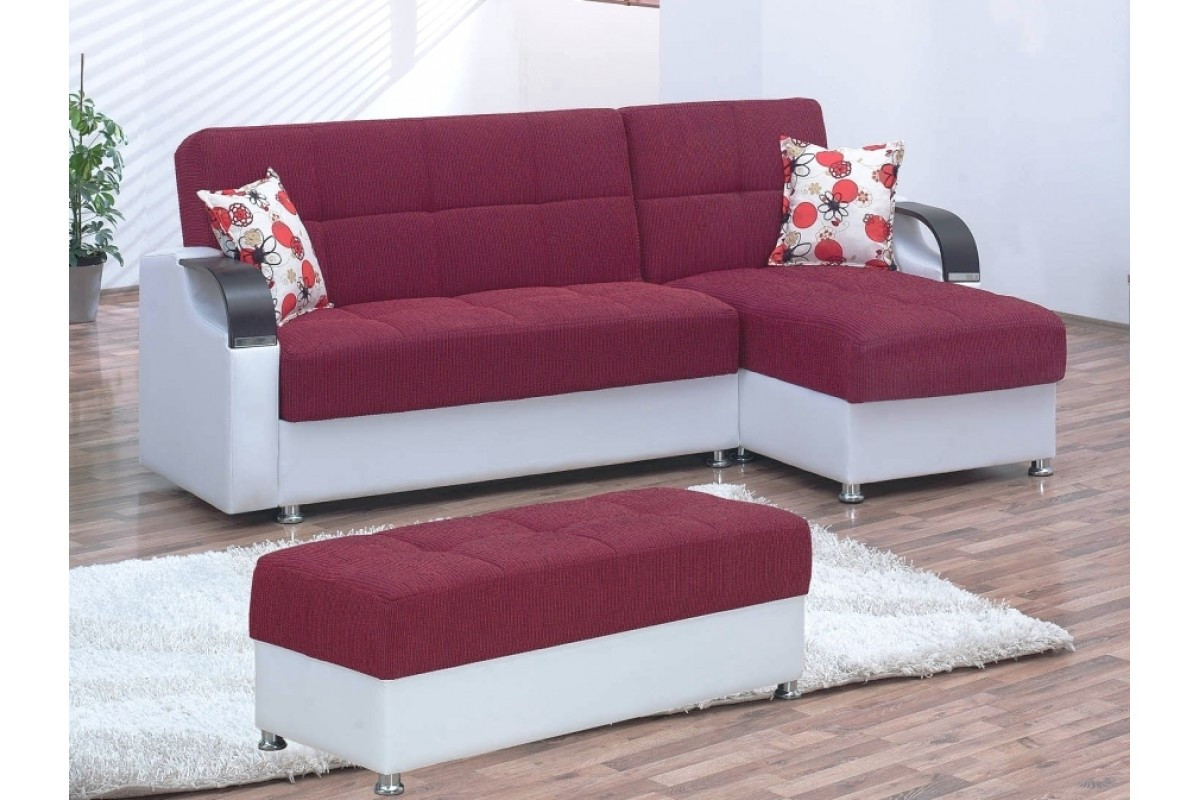 Best ideas about Sofa Bed Sectional . Save or Pin Convertible Sectionals Angel Burgundy Convertible Now.