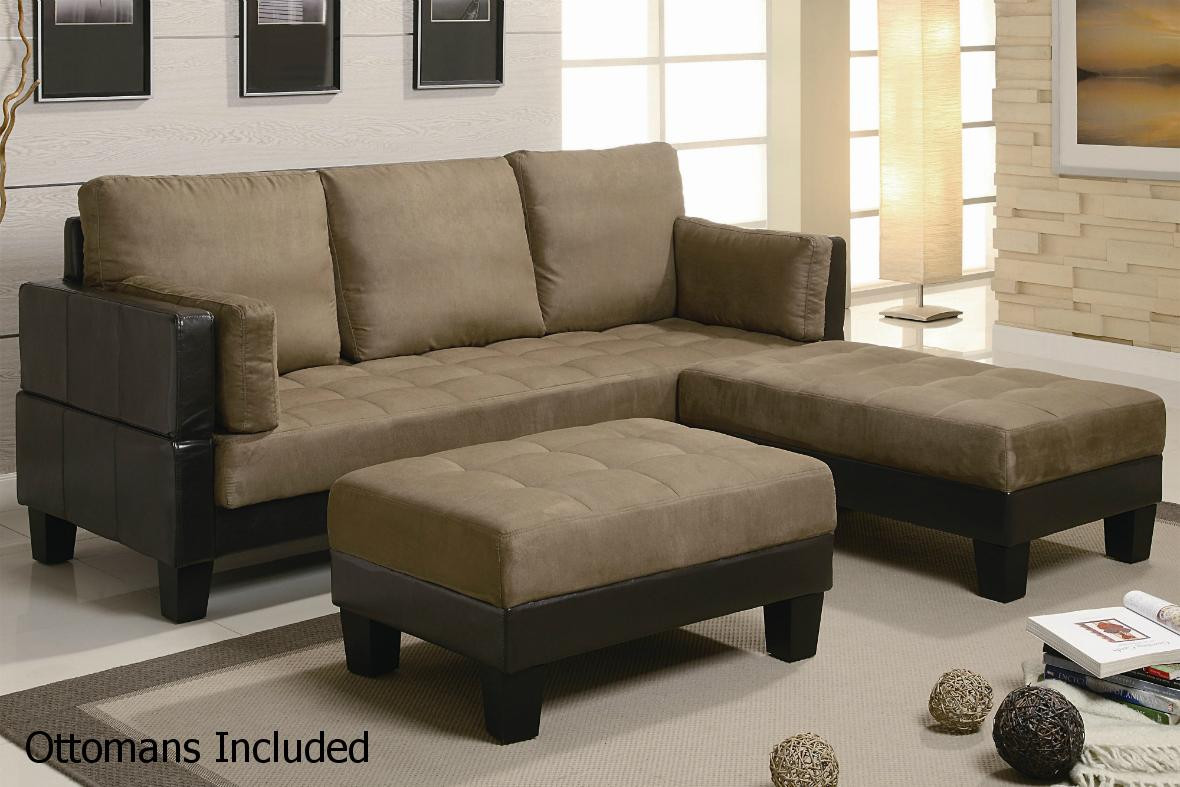 Best ideas about Sofa Bed Sectional . Save or Pin Brown Leather Sectional Sofa and Ottoman Steal A Sofa Now.