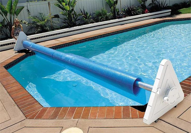 Best ideas about Solar Covers For Inground Pool . Save or Pin Deluxe Portable Solar Pool Cover Reel Now.