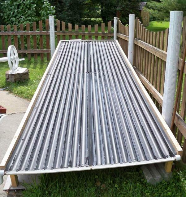 Solar Pool Heater DIY  More Ideas about DIY Solar Pool Heater