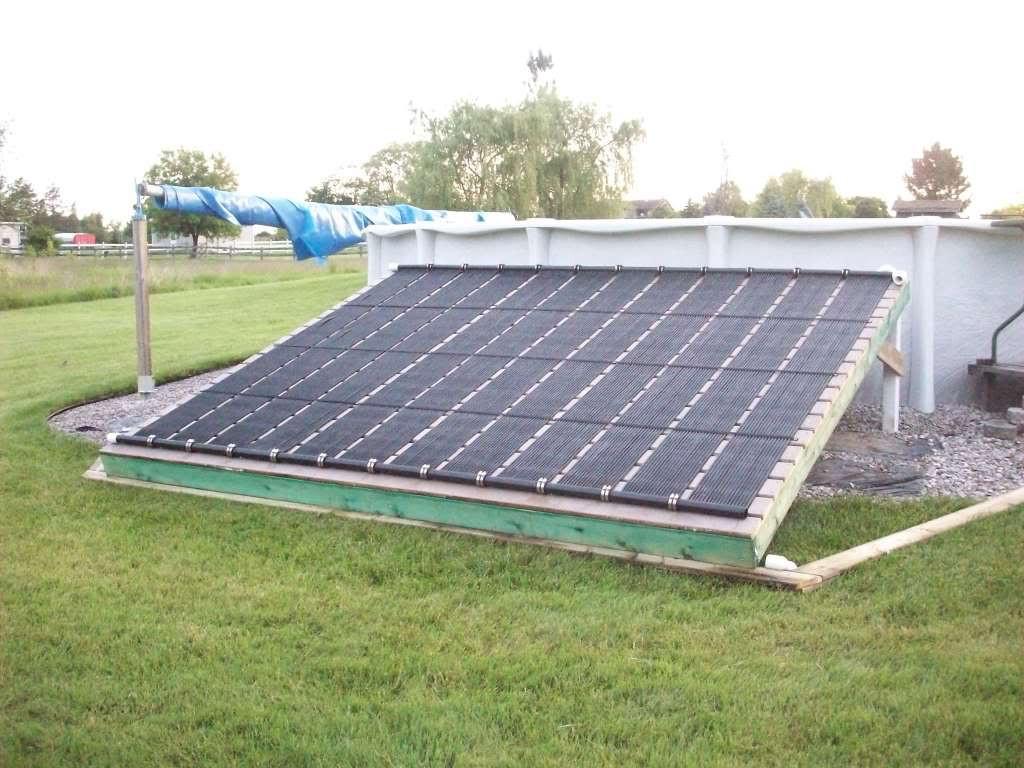 Solar Pool Heater DIY  DIY solar pool heater for you swimming pool