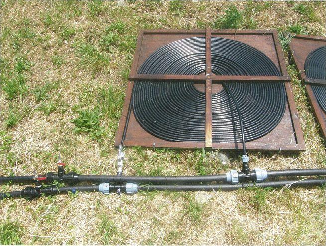 Solar Pool Heater DIY  DIY Solar Pool Heating in Tuscany