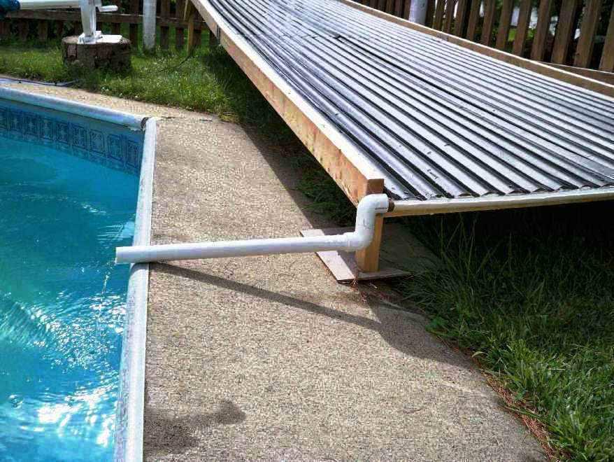 Solar Pool Heater DIY  Solar Pool Heater for Swimming Pool