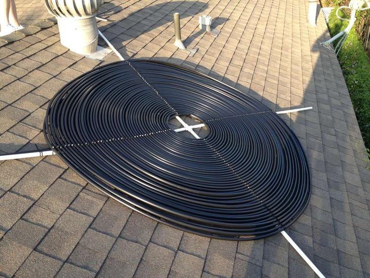 Solar Pool Heater DIY  diy pool heater Outdoor Hot tubs
