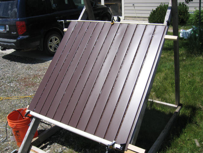 Solar Pool Heater DIY  Simple Cheap Solar Pool Heater