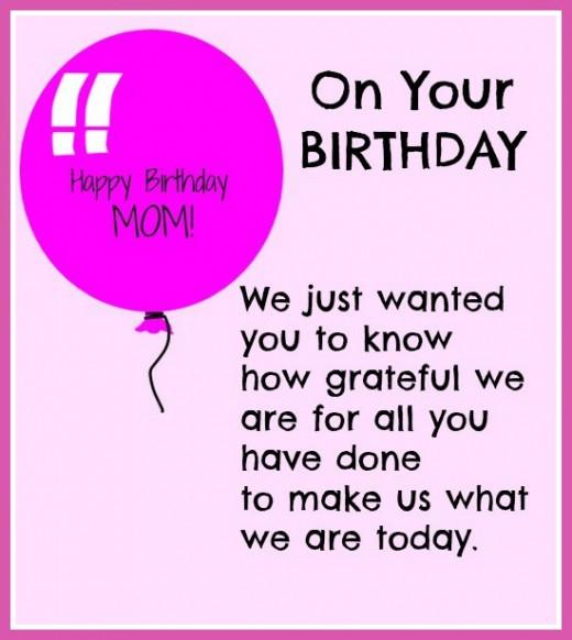 Son Birthday Quotes From Mom  Happy Birthday Mom Quotes Birthday quotes for mother