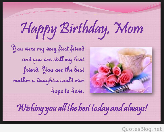 Son Birthday Quotes From Mom  2015 Happy birthday quotes and sayings on images