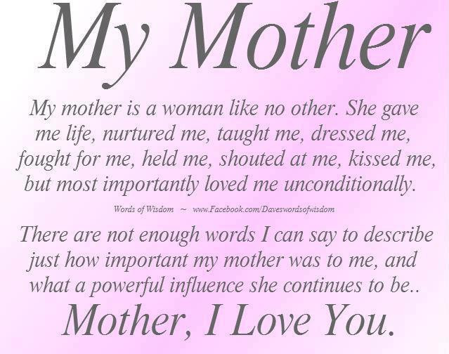 Son Birthday Quotes From Mom  HAPPY BIRTHDAY MOM QUOTES FROM SON AND DAUGHTER image