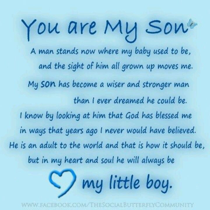 Son Birthday Quotes From Mom  Happy Birthday To My Son In Heaven Quotes QuotesGram
