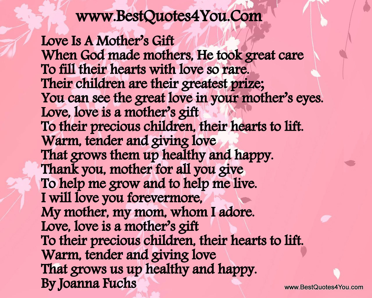 Son Birthday Quotes From Mom  Mother Son Love Quotes QuotesGram