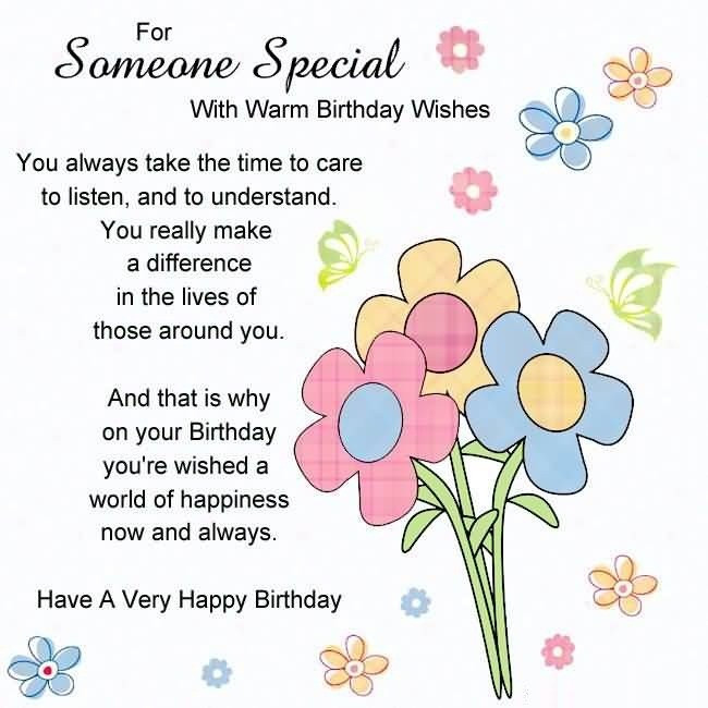Best ideas about Special Birthday Wishes . Save or Pin 40 Someone Special Birthday Wishes s & ECards Now.