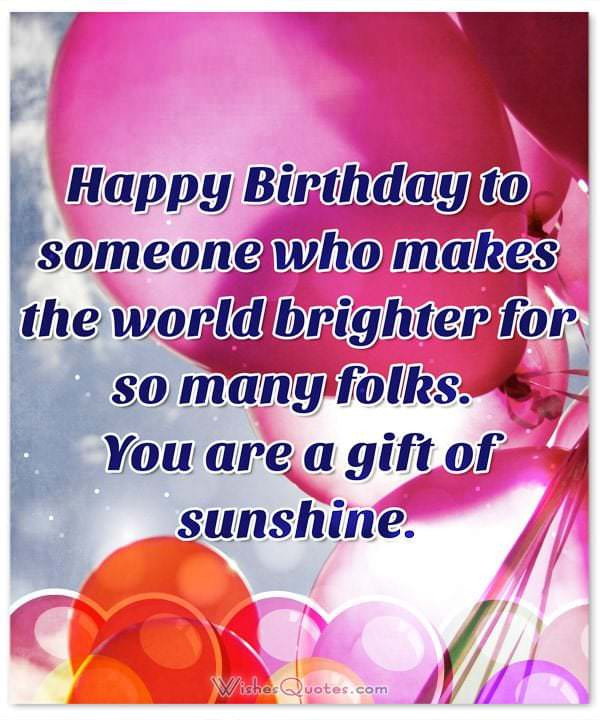 Best ideas about Special Birthday Wishes . Save or Pin Deepest Birthday Wishes and for Someone Special in Now.