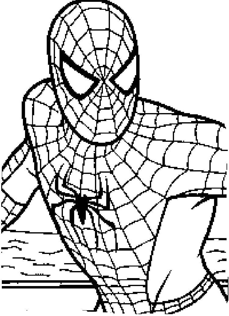 Spiderman Coloring Pages For Adults  Spiderman Enemies e See Coloring Page Spyderman