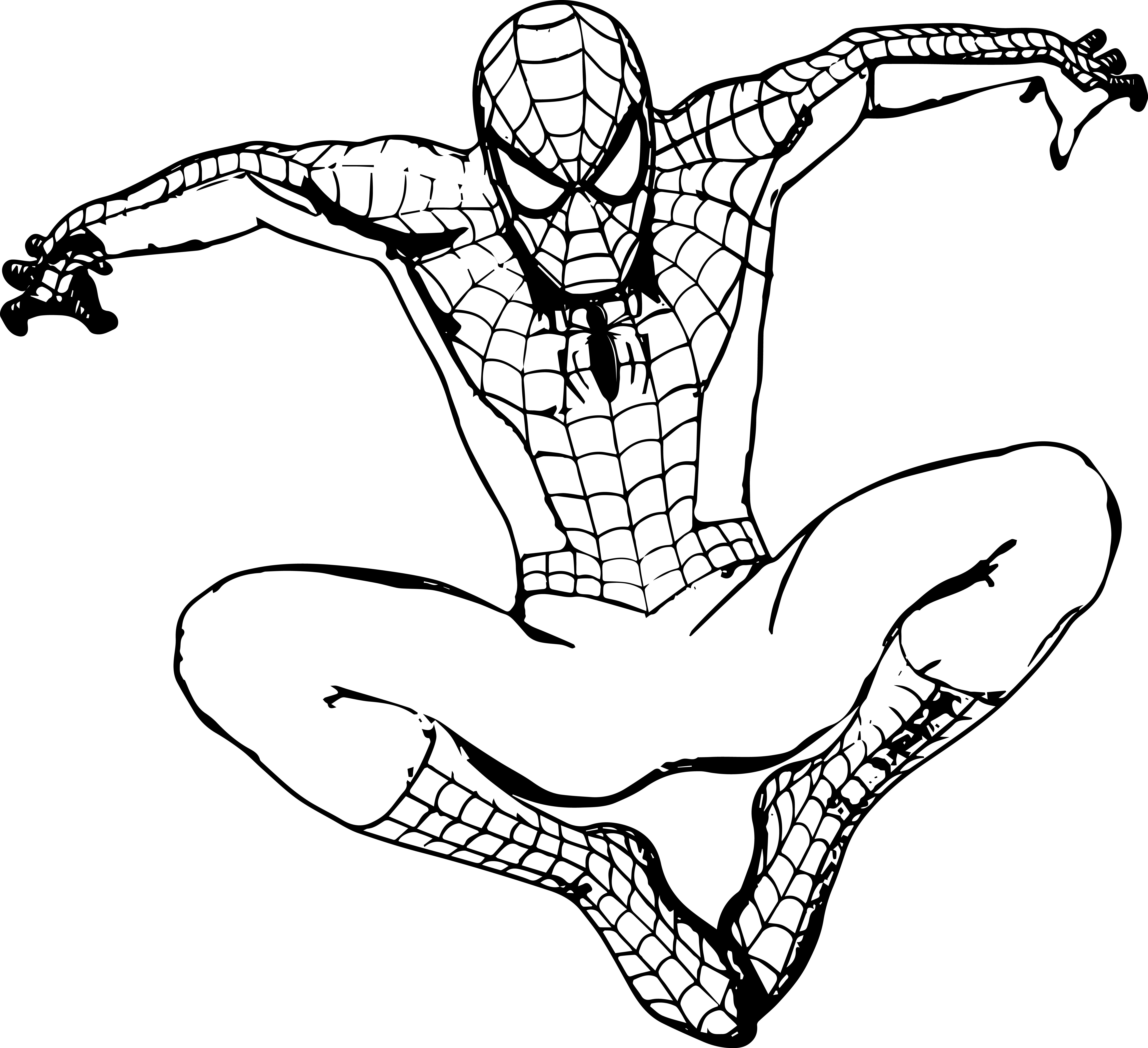 Spiderman Coloring Pages For Adults  Spiderman Coloring Pages coloringsuite