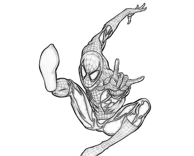 Spiderman Coloring Pages For Adults  Spiderman Coloring Pages For Kids