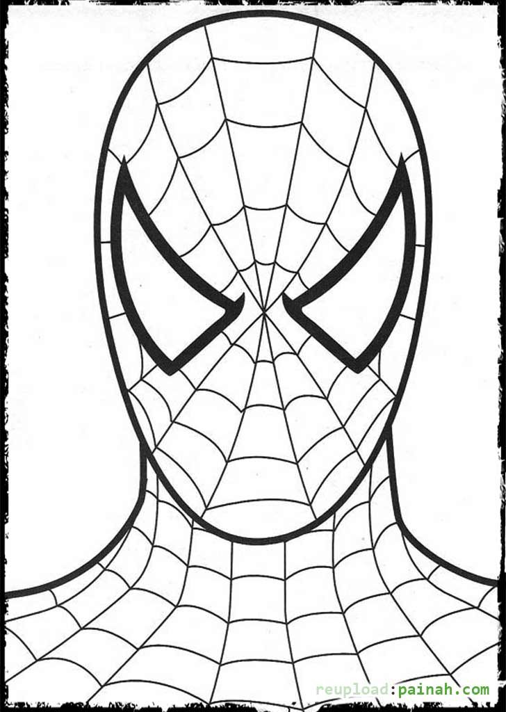 Spiderman Coloring Pages For Adults  Spiderman Coloring Page Coloring Pages