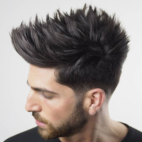 Spiky Hairstyles For Medium Length Hair  Haircut Names For Men Types of Haircuts 2019