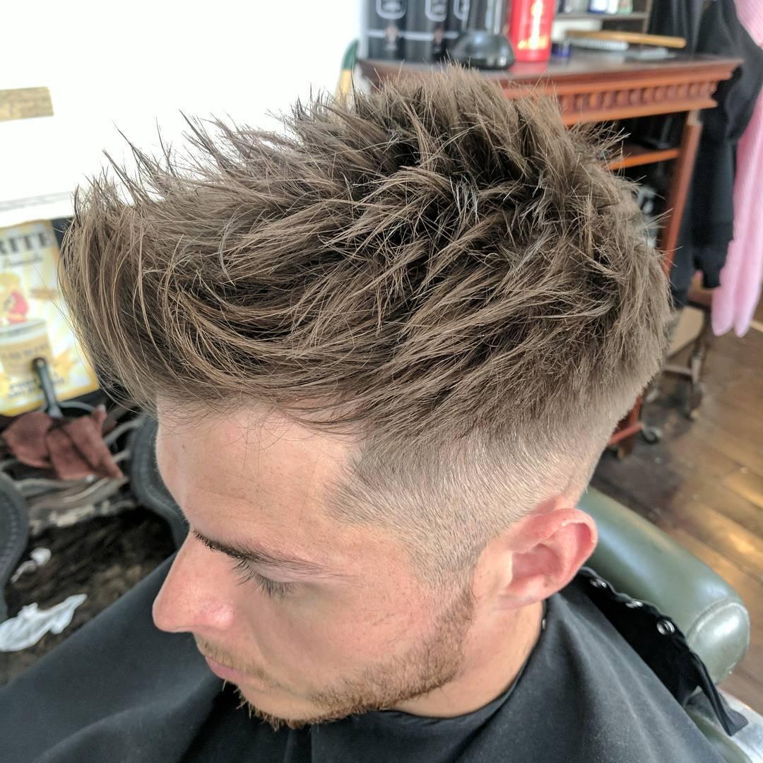 Spiky Hairstyles For Medium Length Hair  Spiky Haircut 2017 Haircuts Models Ideas