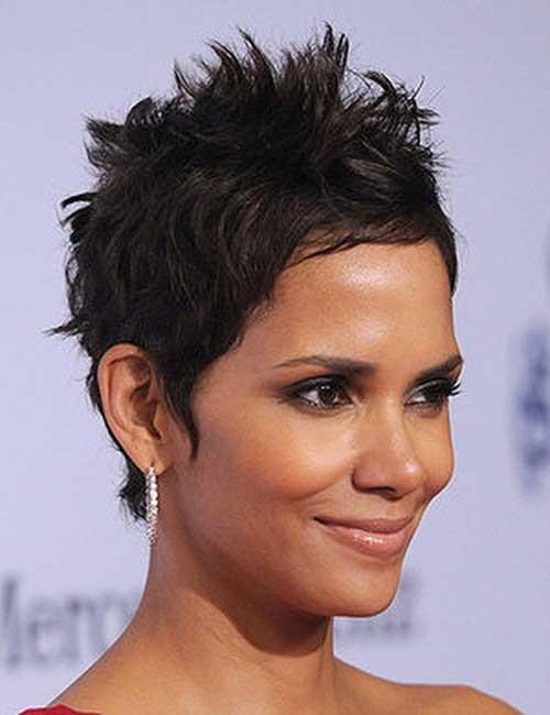 Spiky Hairstyles For Medium Length Hair  14 Medium Length Pixie Cuts