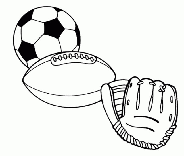 Sports Coloring Pages For Kids  Printable Sports Coloring Pages For Kids Free Printable