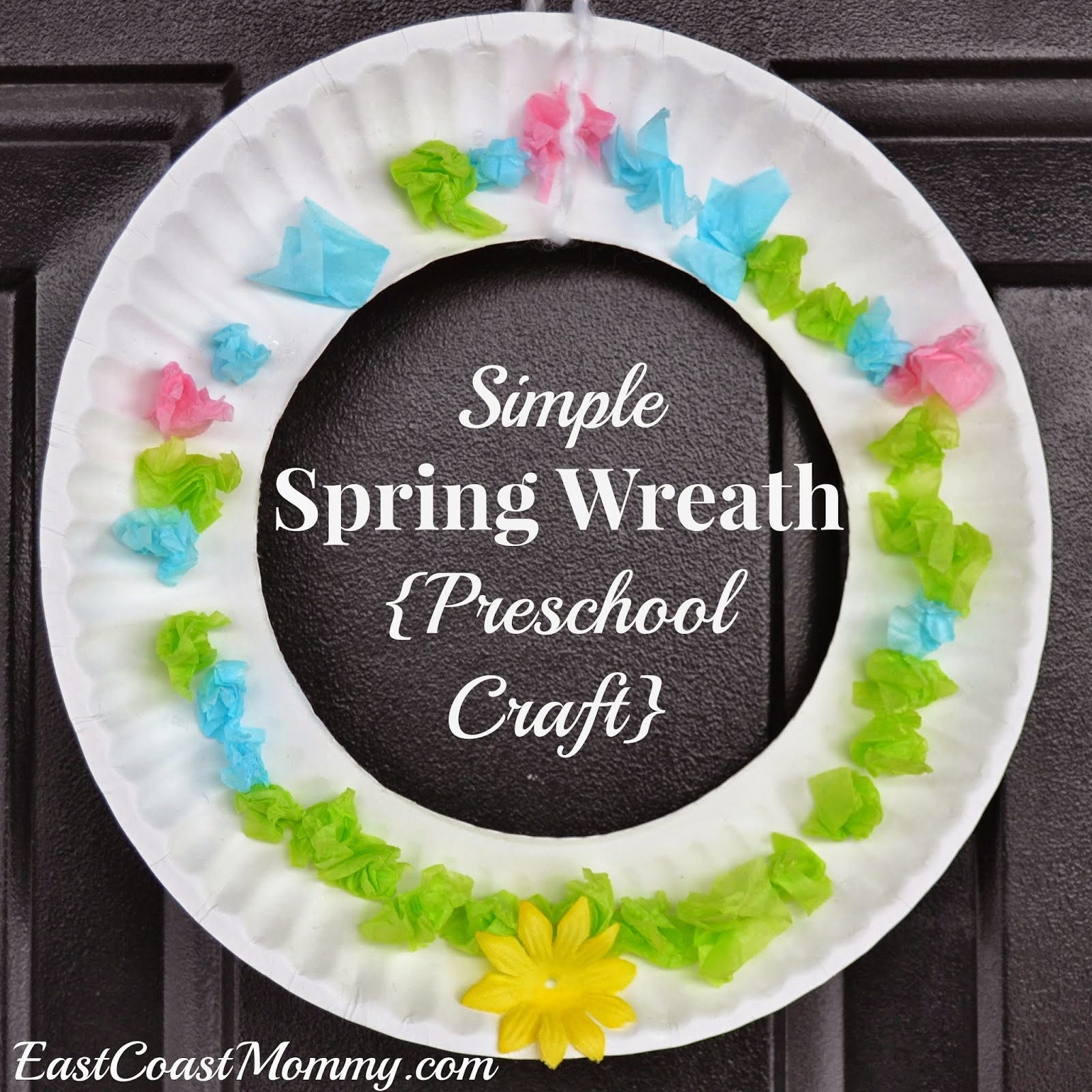Spring Craft For Preschoolers  East Coast Mommy 10 Simple Easter Crafts for Kids
