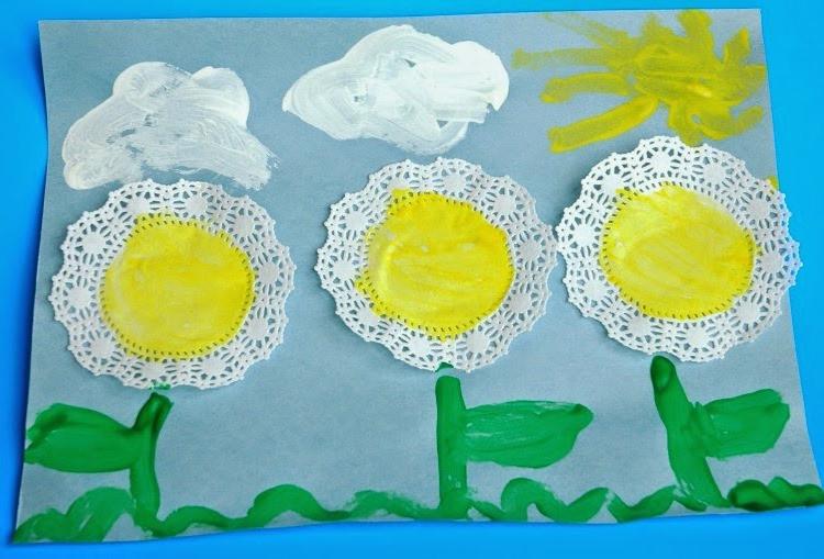 Spring Craft For Preschoolers  spring flower crafts for preschoolers