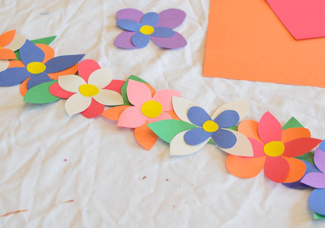 Spring Craft For Preschoolers  Flower Crown Spring Craft