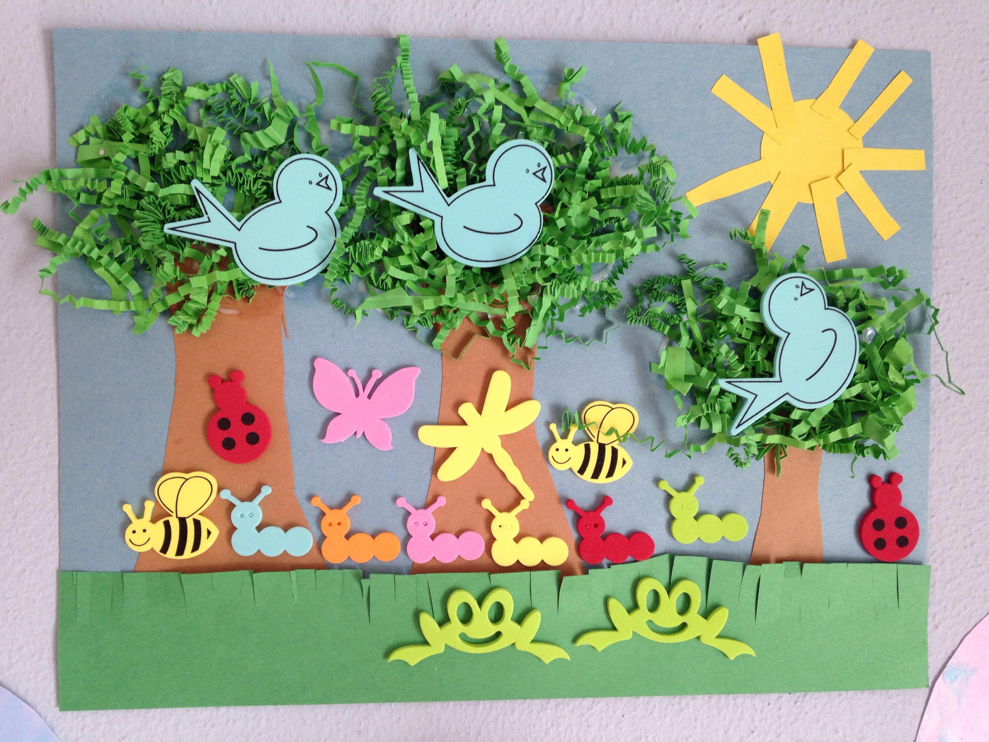 Spring Craft For Preschoolers  spring paper crafts Preschool and Homeschool