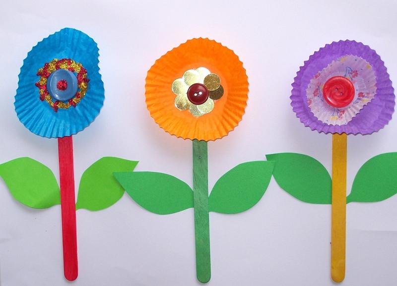 Spring Craft For Preschoolers  easy preschool spring crafts craftshady craftshady