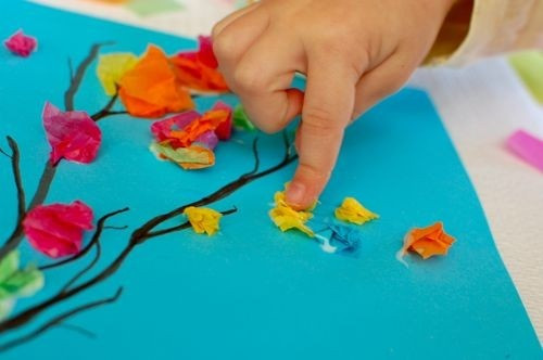 Spring Craft For Preschoolers  Eco Friendly Craft Ideas Spring Art Erica Samm