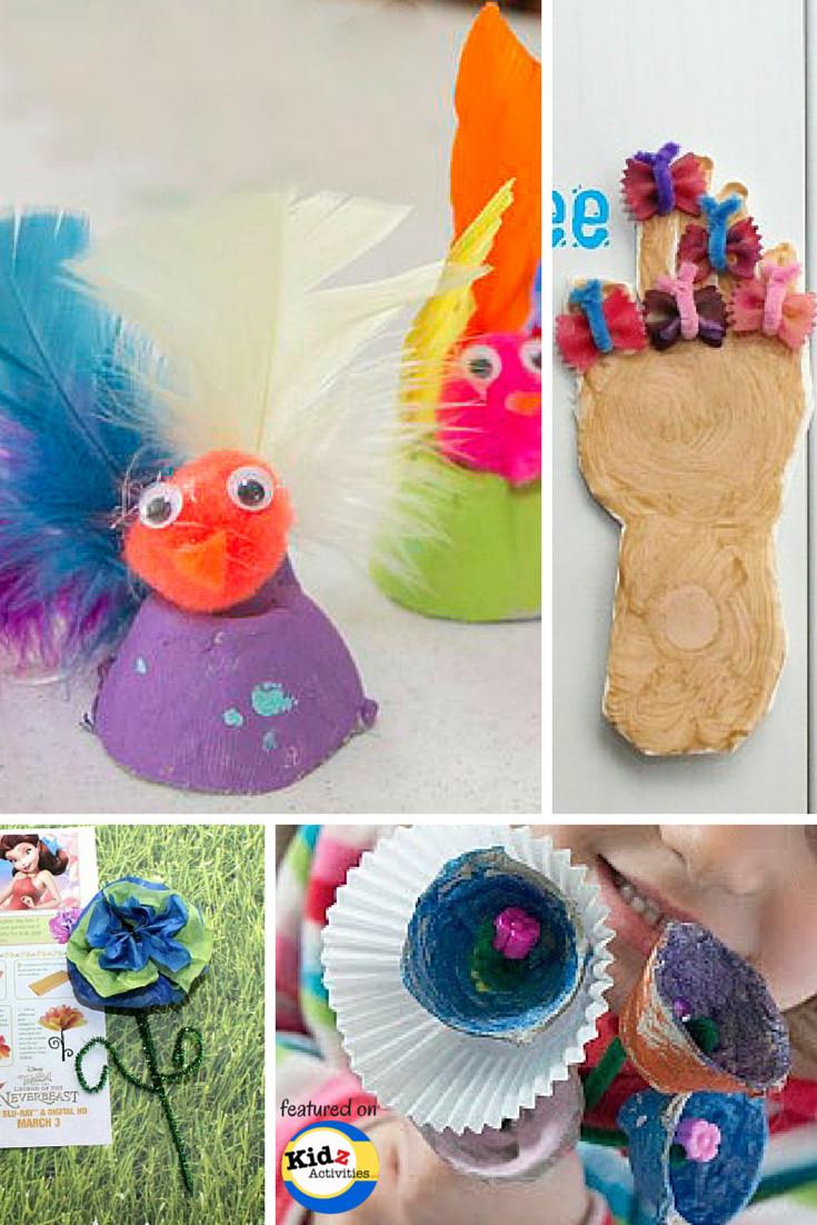 Spring Craft For Preschoolers  Spring Crafts for Preschool Kidz Activities