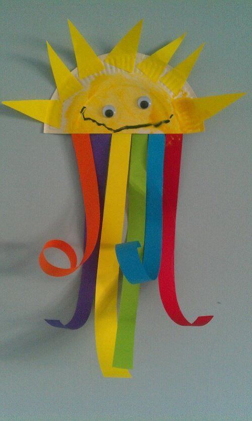Best ideas about Spring Crafts For Preschoolers . Save or Pin preschool spring crafts Now.