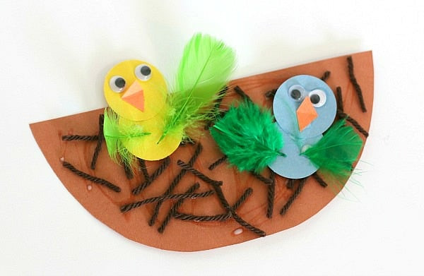 Best ideas about Spring Crafts For Preschoolers . Save or Pin Spring Crafts for Kids Nest and Baby Bird Craft Buggy Now.