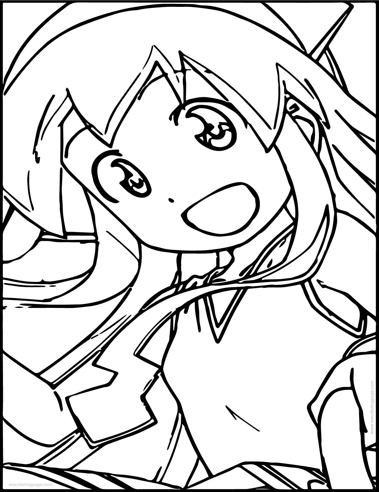 Best ideas about Squid Coloring Pages . Save or Pin Squid Girl Picture Coloring Page Now.