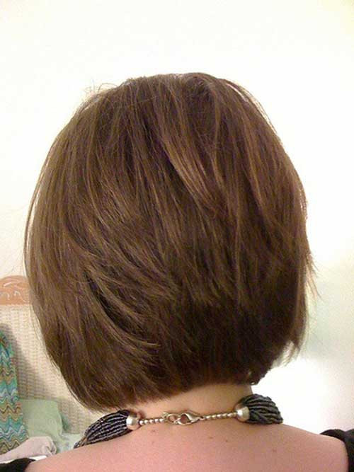 Stacked Bob Hairstyles  30 Stacked A line Bob Haircuts You May Like Pretty Designs