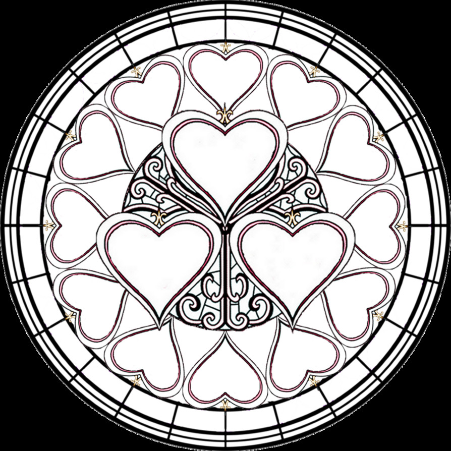 Stain Glass Coloring Pages For Boys  15 stained glass coloring pages for kids Print Color Craft