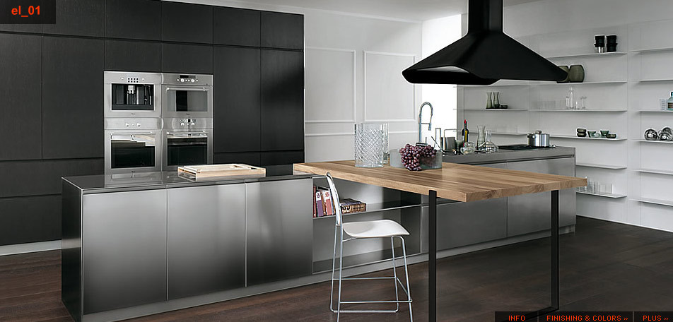Best ideas about Stainless Steel Kitchen Decor . Save or Pin Stainless Steel Kitchen Designs Now.